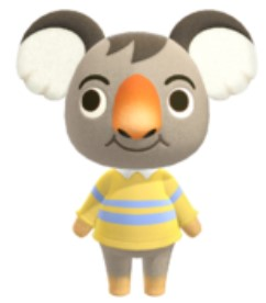 Ozzie in Animal Crossing