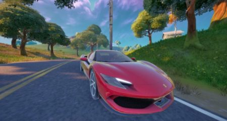 Where to Find Ferrari in Fortnite (Ferrari 296 GTB Location)