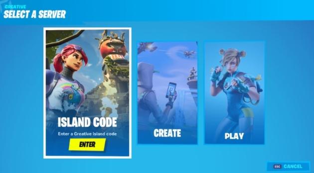 choose Island Code