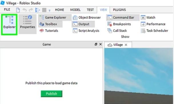 click Explorer