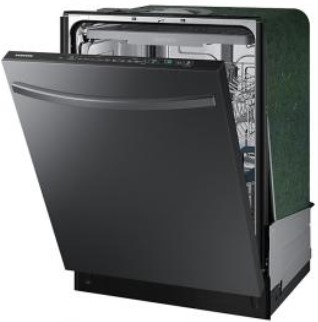 24 Samsung Dishwasher with StormWash, Black Stainless Steel1