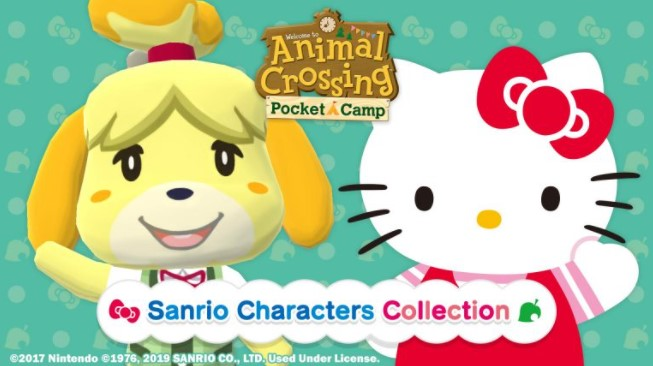 About Sanrio Characters Event in Animal Crossing Pocket Camp