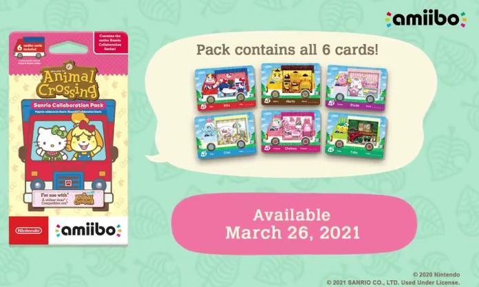Animal Crossing Sanrio Amiibo Cards Orders & Release Date