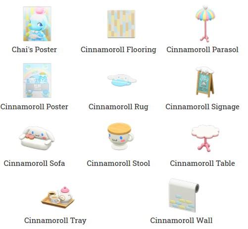 Cinnamoroll Furniture