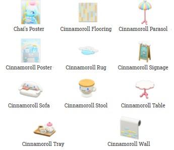 Cinnamoroll Items