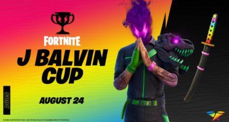 Fortnite J Balvin Cup Time & Date