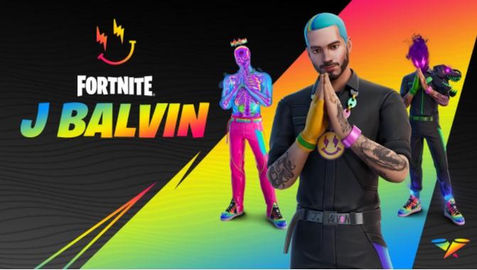 Fortnite J Balvin Cup Time
