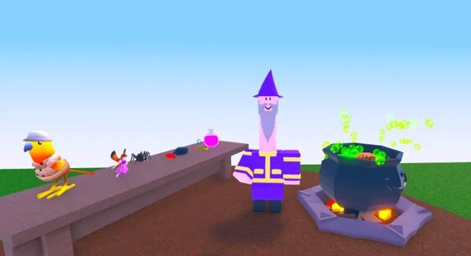 General Gameplay of Wacky Wizards
