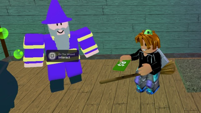 Getting Robux in Wacky Wizards