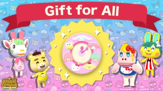 Gift for All Sanrio Characters Clock
