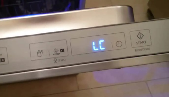 How to Clear Samsung Dishwasher LC Code Not Draining