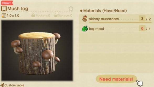 How to Craft Mush Log