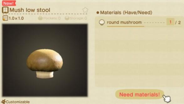 How to Craft Mush Low Stool