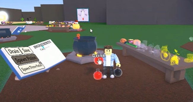 How to Get DNA Potion in Wacky Wizards Roblox1