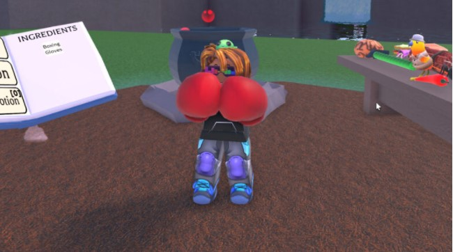How to Get the Boxing Glove in Wacky Wizards Roblox