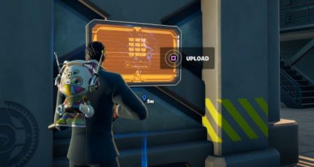 How to Interact With Equipment at Any IO Radar Dish Base in fortnite