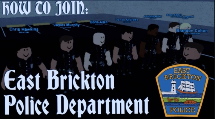 How to Join the East Brickton Police Department