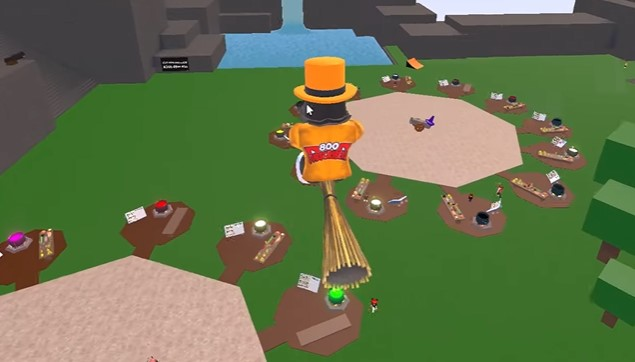 How to Make Broom Potion in Wacky Wizards Roblox