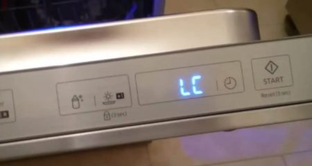 How to Reset Override LC Code on Samsung Dishwasher