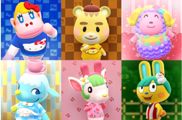 List of Sanrio villagers in ACNH