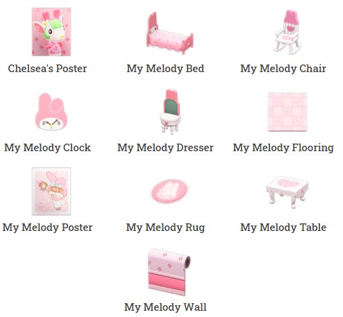 My Melody Furniture