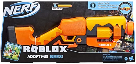 Nerf Roblox Adopt Me Bees Blaster from Amazon and Target