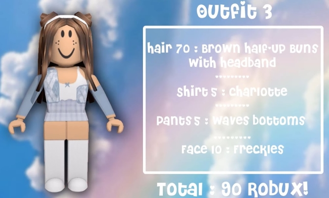 Outfit 3 Softie Roblox Avatars