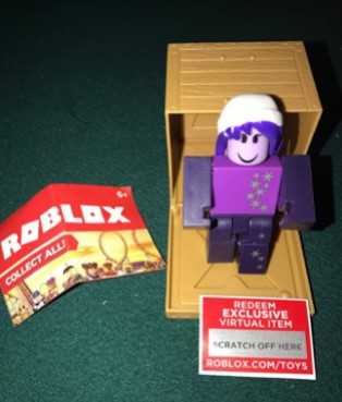 ROBLOX Series 2 Galaxy Girl Action Figure Mystery Box1