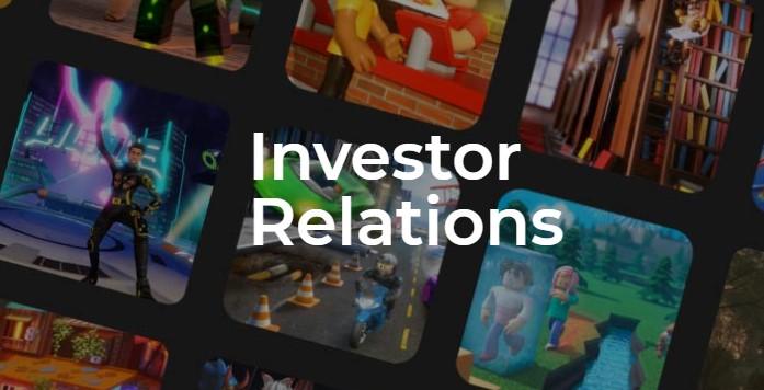 Roblox Investor Relations