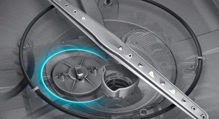 Samsung Dishwasher DW80N3030US Leak Sensor Location