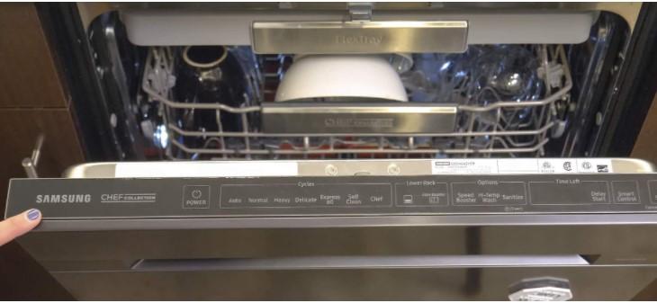 Samsung Dishwasher Error Codes Flashing Lights Normal Heavy Smart Auto