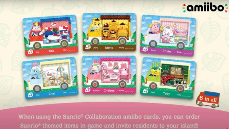 Sanrio Amiibo Cards Animal Crossing New Horizons List