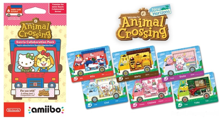 Sanrio Amiibo Cards Target Restock - Animal Crossing