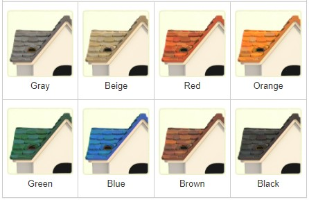Stone Roof Colors
