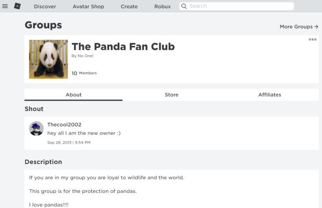 The Panda Fan Club