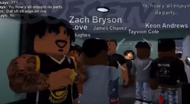 The Story Of Tayvion Cole in Roblox East Brickton