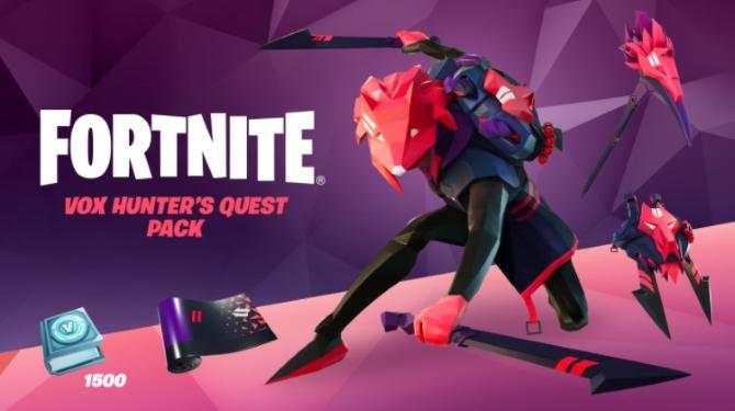 Vox Hunter Fortnite Quests & Price Pack Bundles