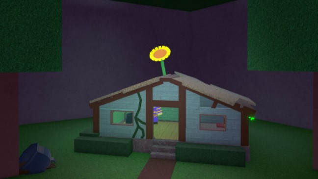 Where is the Sunflower in Wacky Wizards Roblox