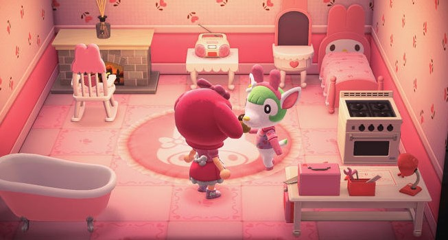 chelsea Sanrio Amiibo Cards Animal Crossing