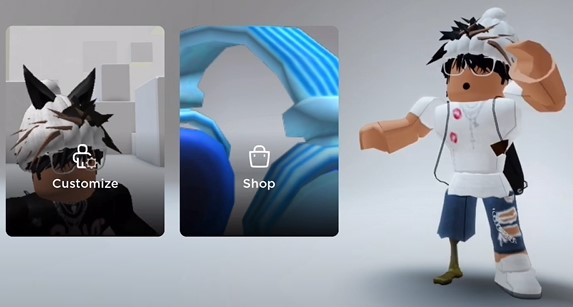 fifth style CNP Roblox Avatar Boy