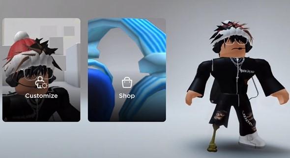 first style CNP Roblox Avatar Boy