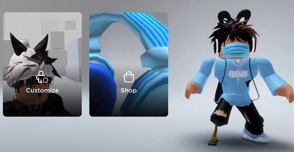 fourth style CNP Roblox Avatar Boy