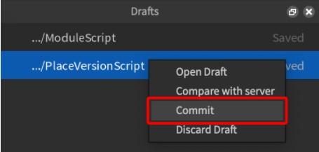 Applying Edits to Server