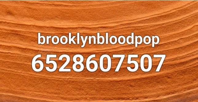 BrooklynBloodPop Roblox ID Loud Code