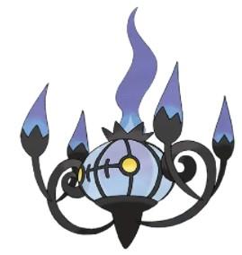 Chandelure pokemon,,