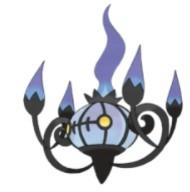 Chandelure pokemon1