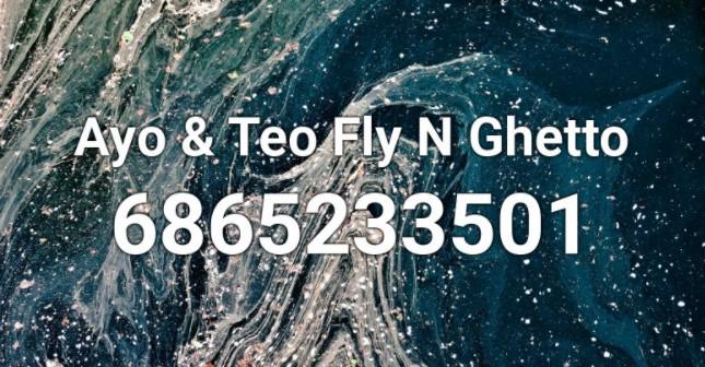 Fly N Ghetto Roblox ID Code