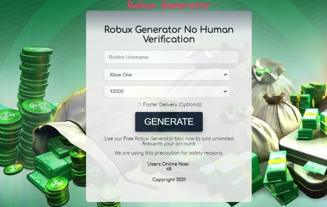 Free Robux No Human Verification or Survey 2021 Kid Friendly