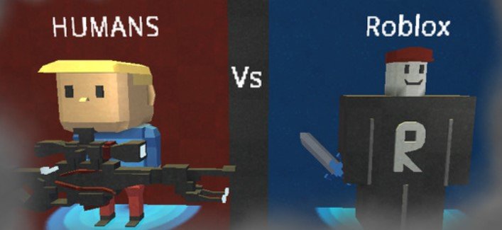 Gameplay for Human Vs Roblox