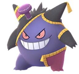 Gengar (Costume 2020) Pokemon Go